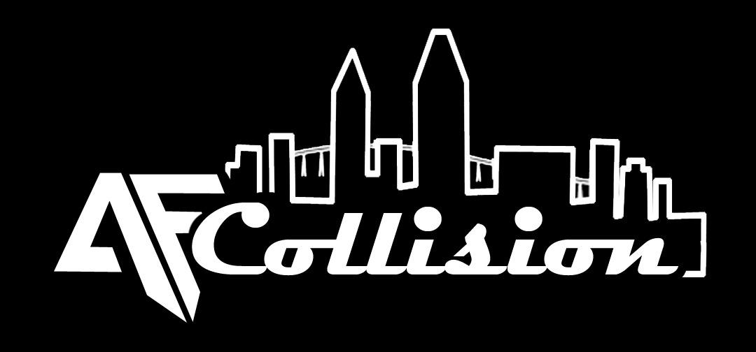 af collision san diego logo